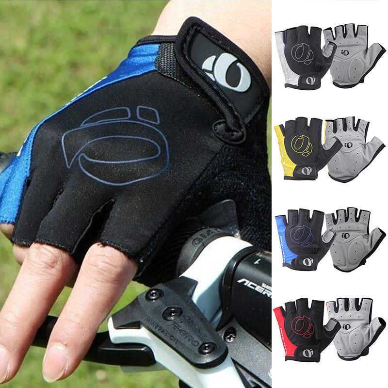 Cycling Bicycle Motorcycle Sport Gel Half Finger Gloves Size S- XL 3 Colors Anti-slip Hand Protector MTB Gel Half Finger Gloves