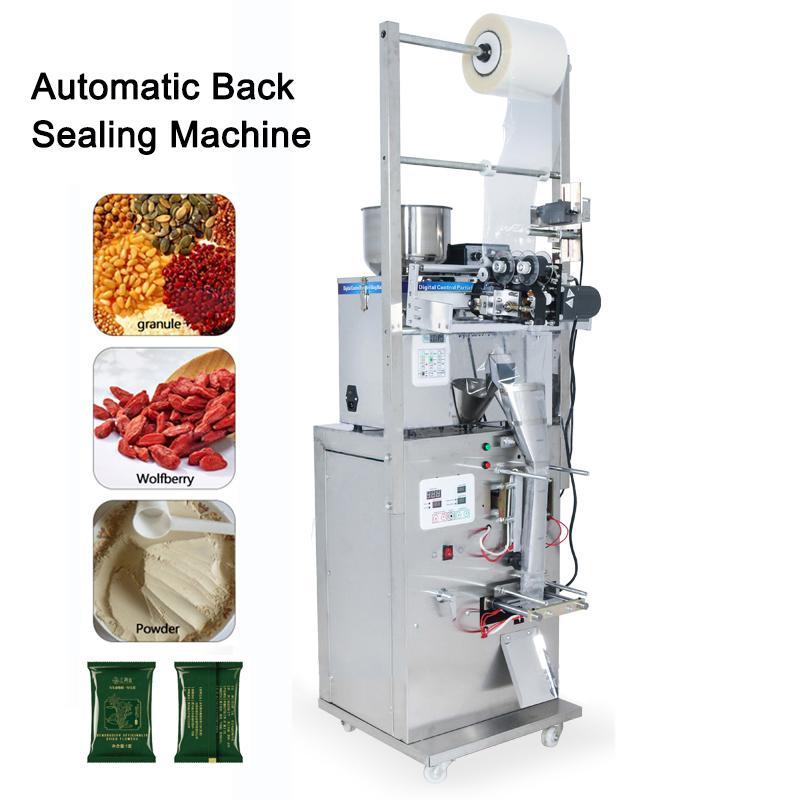 2-50g / 2-100g enchimento inteligente Máquina Sealer saco de chá Máquina de embalagem de pesagem automática da máquina de pó / grânulo enchimento 110V / 220V