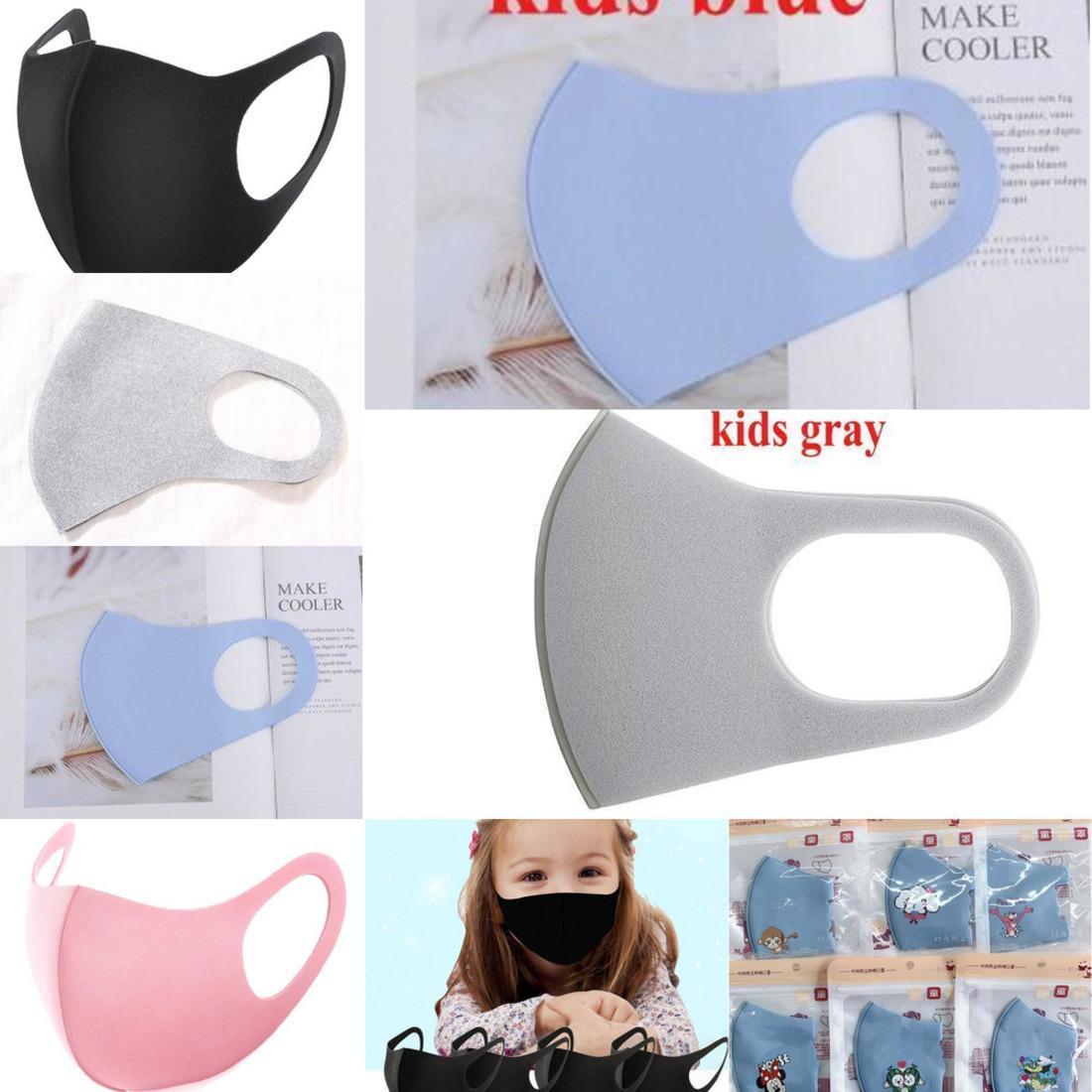 2021100 Rosto Pcs Poeira Anti Mask Adulto Crianças cobrir a boca PM2.5 Dustproof Anti-bacteriana foi 7snr