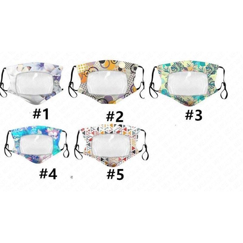 Moda adulti maschera di donna in cotone sottile trasparente respirabile maschere antipolvere protezione Wa