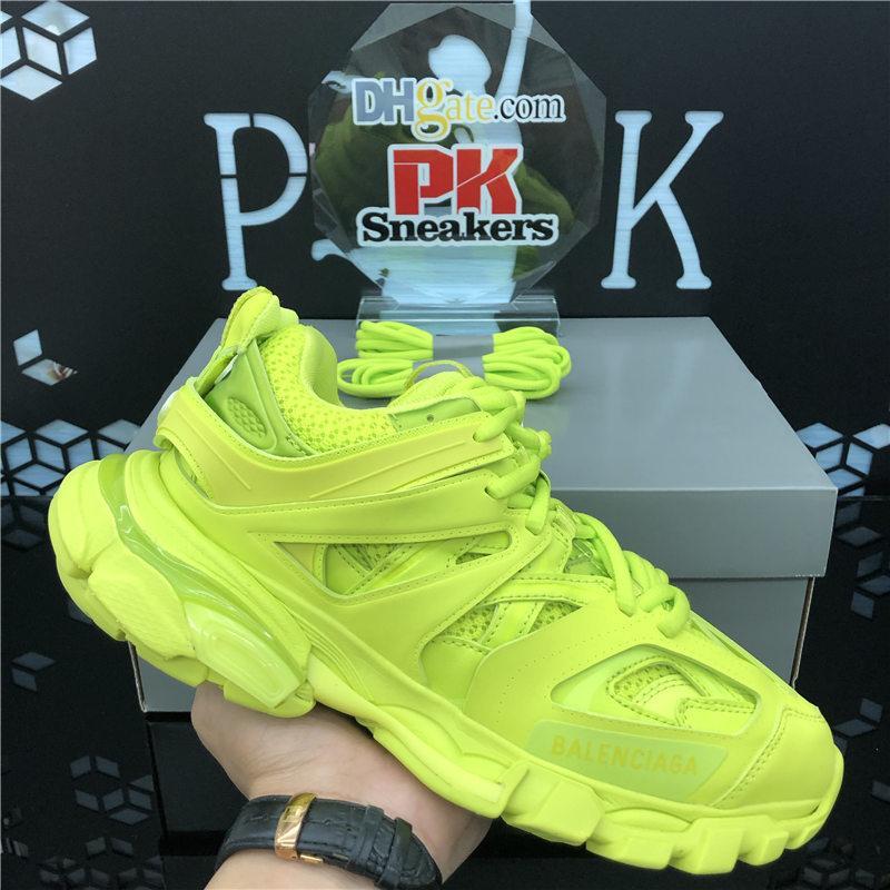 2020 Nouvelle arrivée Tripler paires Casual Shoes Triple S Dégagez Baskets sneakers Combinaison cristal Bas Hommes Femmes Mode Chaussures papa