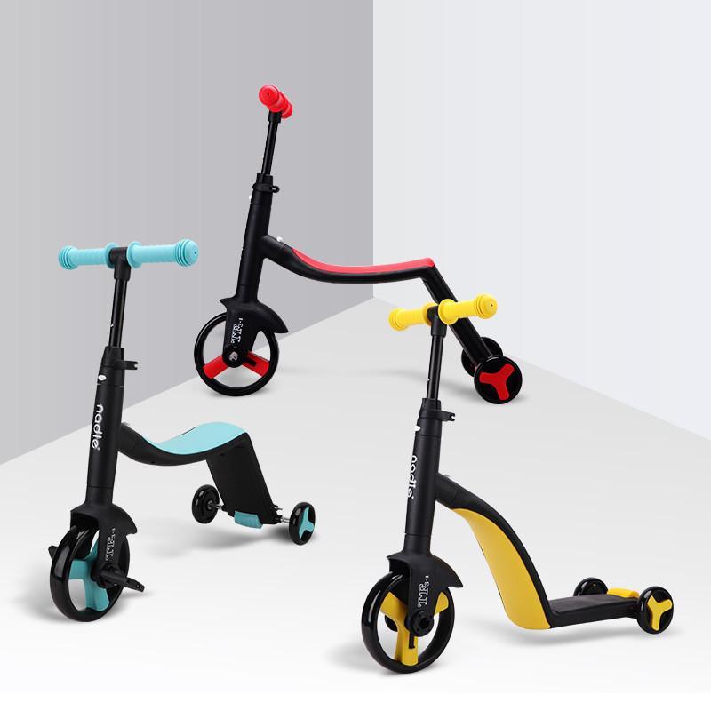 Motorino Triciclo Baby 3 In 1 Balance Bike Ride On Toys for 2-5years vecchi bambini per l'apprendimento della camminata scooter Giocattoli per Kid 200925