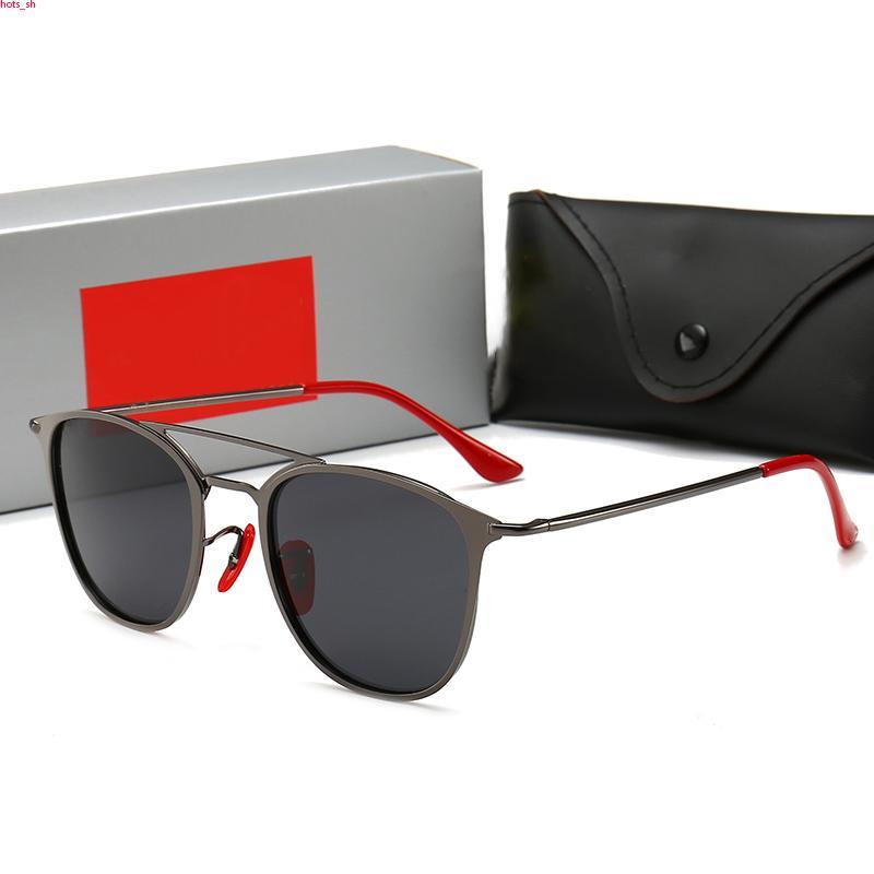 RayBan RB3602 occhiali da sole di lusso Occhiali Outdoor Shades telaio PC signora Classic di lusso di modo degli occhiali da sole Specchi per le donne