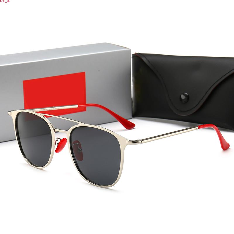 RayBan RB3601 Piazza sexy occhiali da sole signore pilota Occhiali da sole in metallo delle donne degli uomini degli occhiali di protezione di pendenza di vetro di Sun di un pezzo