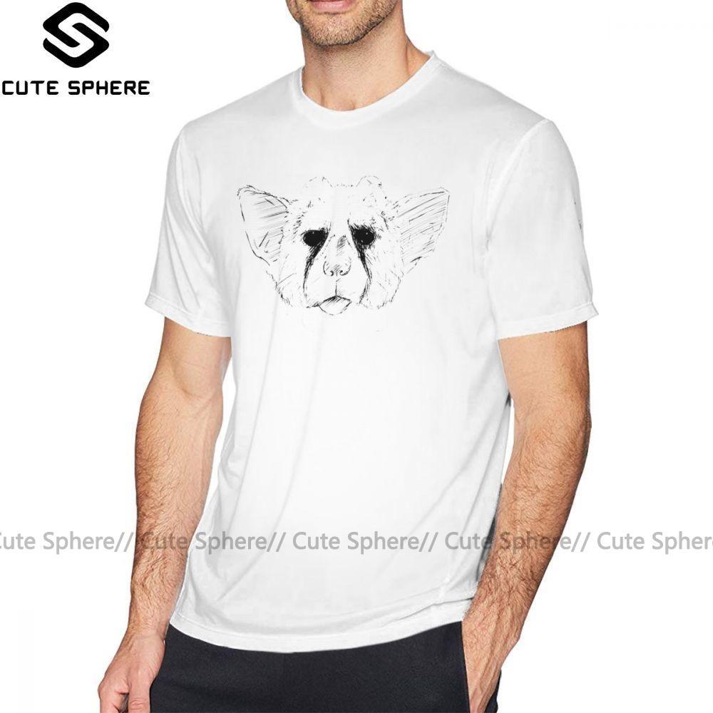 Trico T-shirt Trico The Last Guardian T-shirt Streetwear Fun T-shirt en coton imprimé 100 pour cent des hommes 5x manches courtes T-shirt