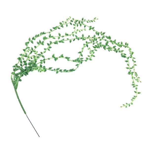 Fleur artificielle collier de perles en osier éponte Plantes Succulentes