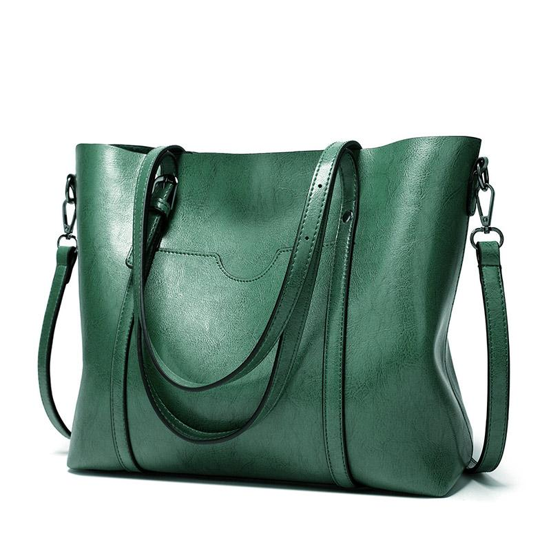 designer luxury handbags purses Lady Hand Bags Pocket Women messenger bag Big Tote Sac Bols designer tote bag green color