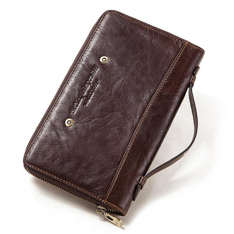 2020 nuovo Mens frizione Mens mobile Portafoglio Business Casual Multi-Function borsa Passport08