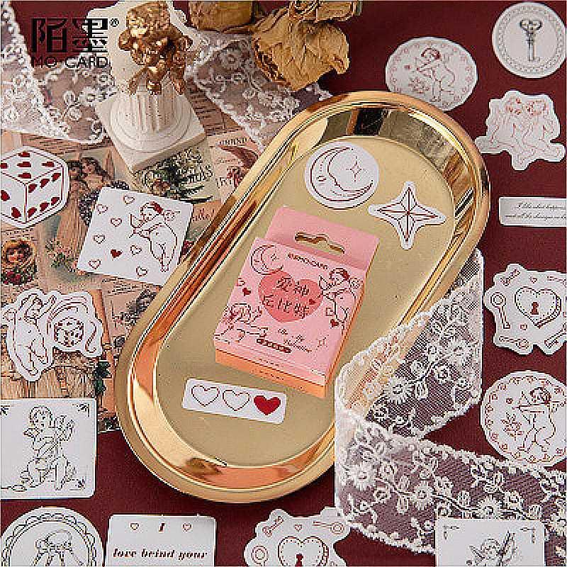 1pack Kawaii Dieu Cupidon d'amour Favoris Livre page Pratique Littérature bureau de l'école d'art Étudiants de fournitures Signets Cadeaux