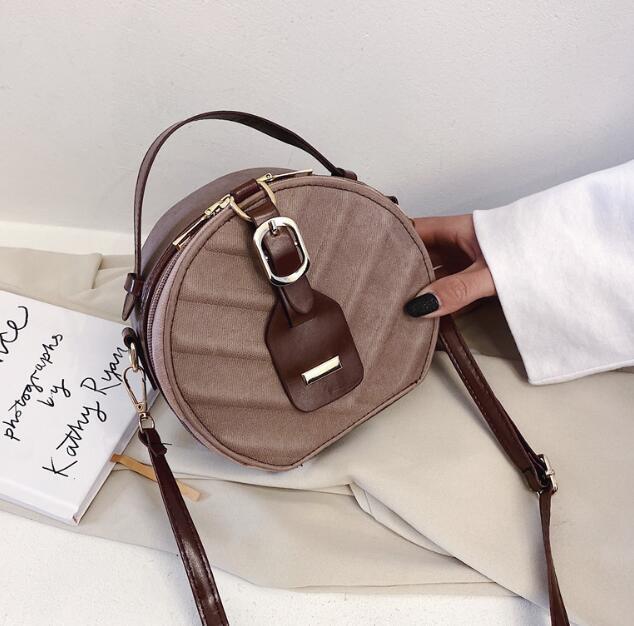 Новая монета PU женская явная круглая девушка сумка для плеча моды дети смешать цвет кошелек в форме лучший подарок WBCFN
