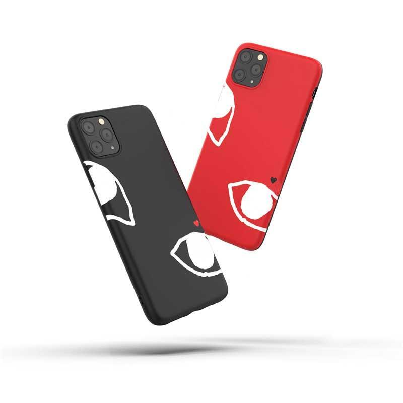 Caso de la manera para Iphone 11 / 11Pro / 11 PMax/XSMAX 7P / 8P 7/8 XR X / XS Nueva caliente diseñadores impresos de alta calidad caja del teléfono 2 estilo disponible