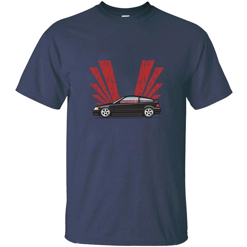 Individueller Customized Schwarz Crx T-Shirt für Männer Baumwollnette O-Ansatz Männer Fitness-T-Shirts 2020 Kurz-Hülse T-Shirt T-Top