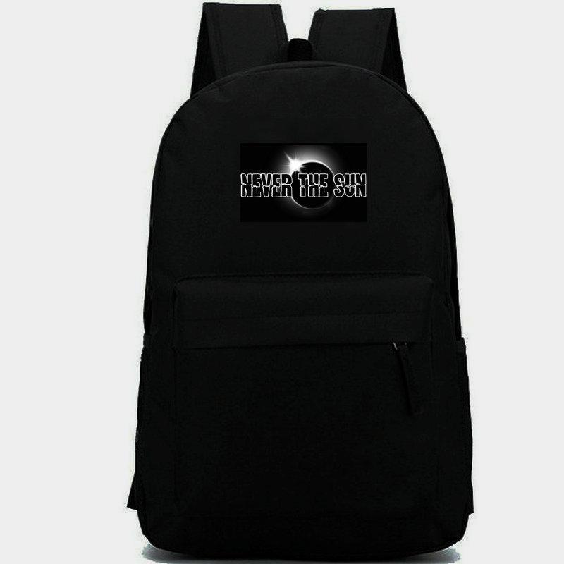 حقيبة الظهر Kyuss أبدا Sun Day Pack في حقيبة مدرسية الفراغ الموسيقى Packsack Quality Rucksack Sport Schoolbag Daypack