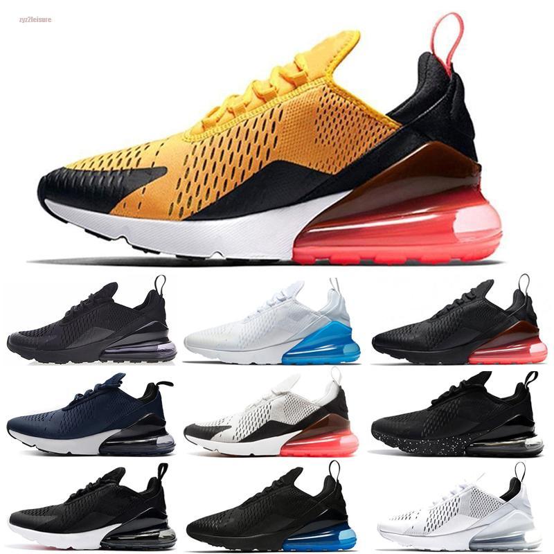 Nike air max 270 27c Büyük 36-45 2020 Tn Koşu Ayakkabı Yastık Sneakers Erkek Platin 27s Spor Ayakkabı Kadınlar Eğitmeni Ayakkabı