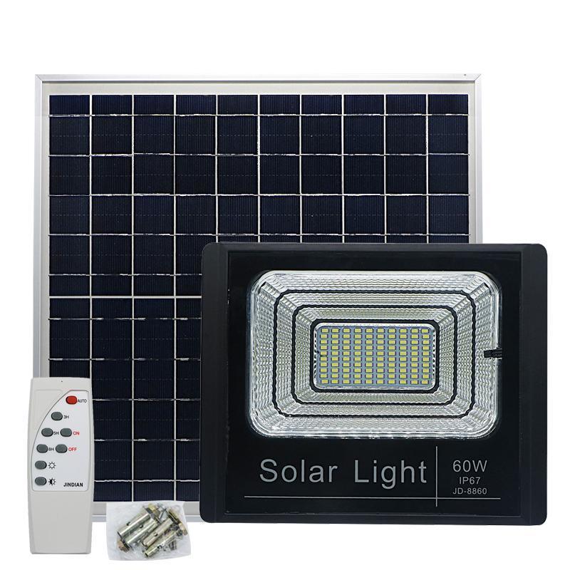 Cgjxs Edison2011 Açık Led Güneş Işık Su geçirmez IP66 Led Taşkın Işık ile Akıllı Uzaktan Güneş Spotlight Lambası Home For Bahçe Yard Çim