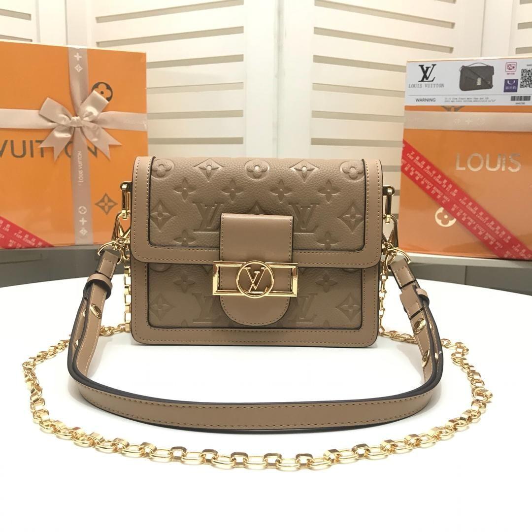 2019 donne del progettista bag di spalla spalla inclinata tendenza borsa donne della catena del sacchetto di acquisto essenziale dimensione borsa classica moda: 25 * 19 * 10cm