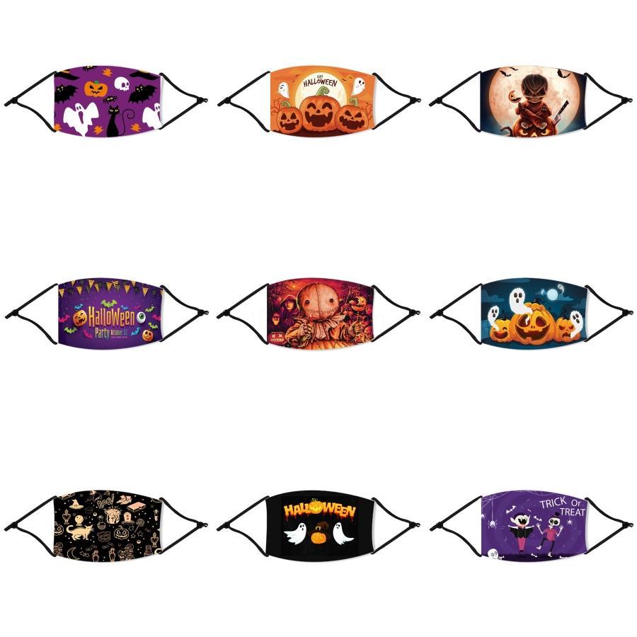 Hj2009 Cubrebocas Çocuklar Yüz Cadılar Bayramı Straw Tapabocas Bezi Yüz Cadılar Bayramı Straw Maskeler Maske Sevimli Toz Cadılar Bayramı Straw Maskeleri Çocuk Bab # 678