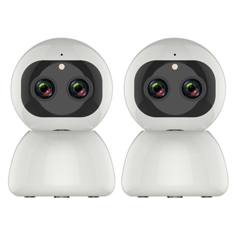 Wireless-1080P WiFi IP-Doppelobjektiv-Zoom-Kamera CCTV-Sicherheits-PTZ-Camcorder