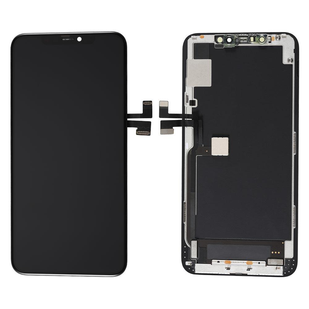 ETwiw 11 كحد أقصى شاشات الكريستال السائل استبدال الأسود أجزاء التجمع شاشة LCD التي تعمل باللمس الموالية للآيفون 11 الموالية عرض ماكس OEM شاشات الكريستال السائل