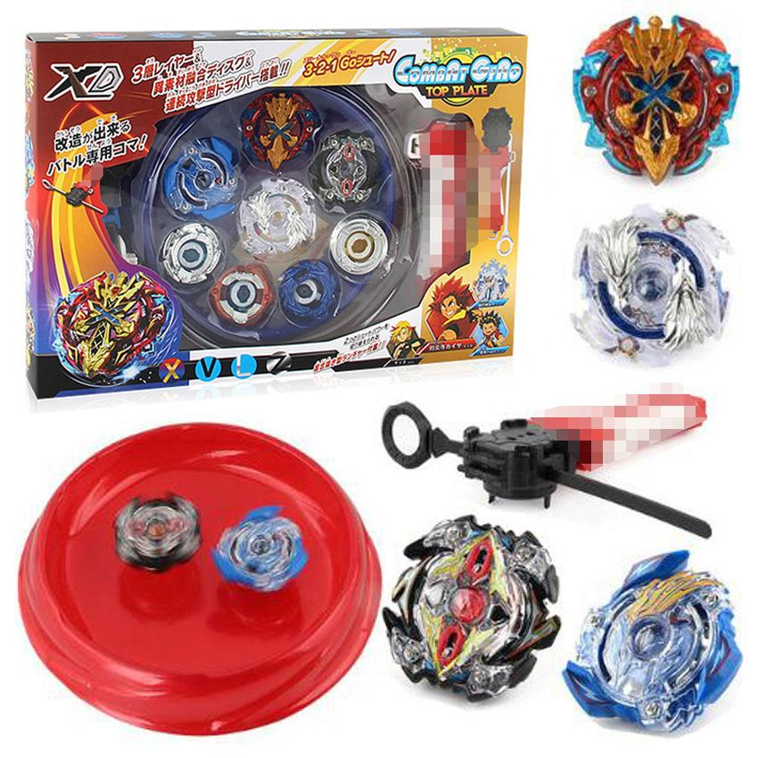 4pcs/set Beyblade Arena Spinning Top Metal Fight Bey blade Metal Beyblade Stadium Children Gifts Classic Toy For ChildMX190926