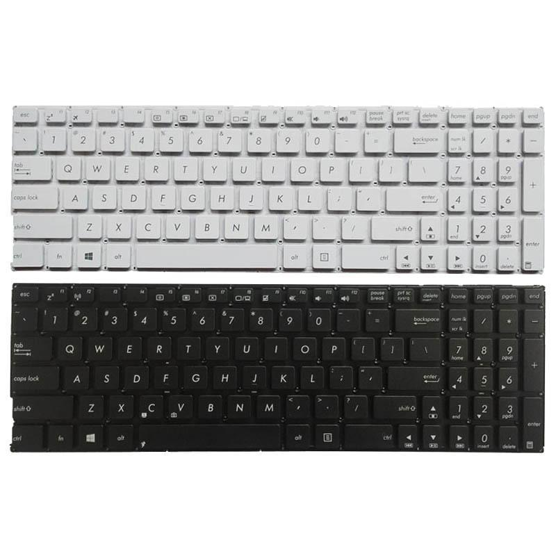 Teclado NOVO US para Asus X556 X556U X556UA X556UB X556UF X556UJ X556UQ X556UR X556UV Inglês teclado do laptop