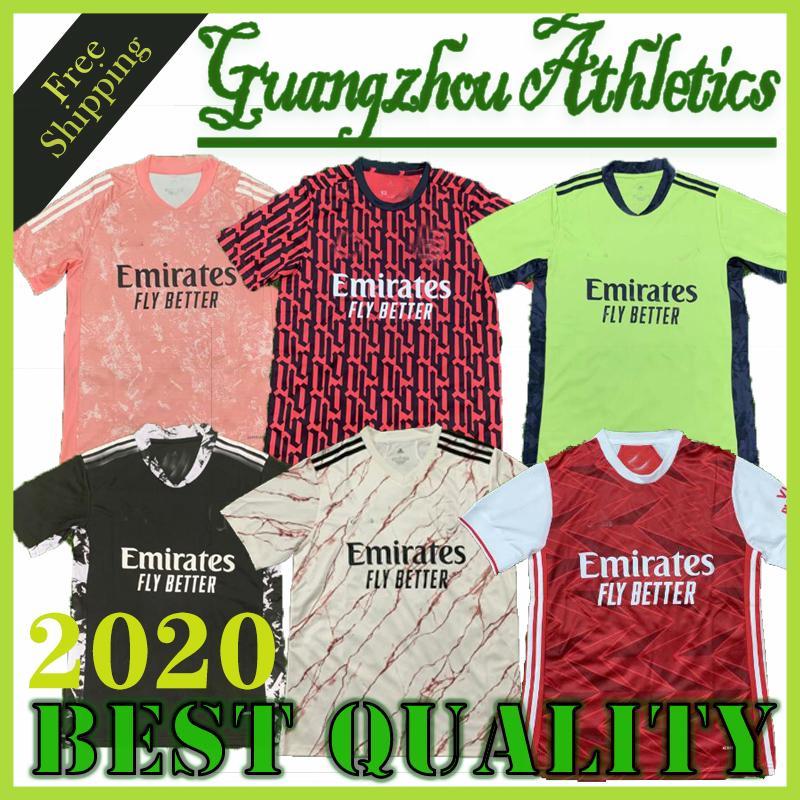 2020 Gunners fútbol casero jersey 20/21 Tercera azul profundo Liga del club de fútbol Arsenal Shirts Hombres camiseta de fútbol
