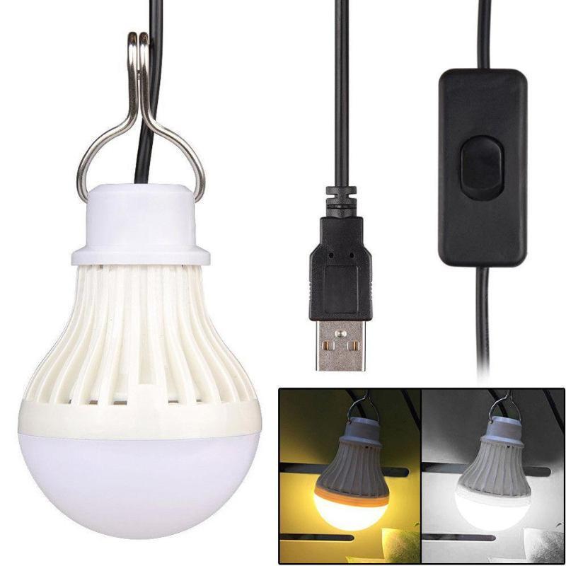 Переносные фонарики USB Switch Super Bright Camping Lights Лампы Палатка Ночной Ламп Аварийный свет Туризм Туризм