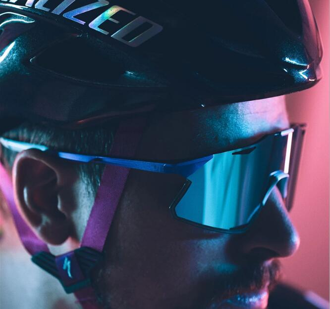 Sagan Uomini vetri di riciclaggio Sport Ciclismo Occhiali TR90 Mountain bike Peter Sagan in bicicletta Occhiali da sole 3 Lens