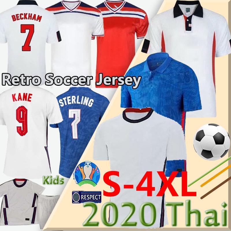 2020 camisas de futebol Taça da Europa do Reino Unido 20 21 eng kane STERLING SANCHO Rashford DELE Inglaterra Camisetas de futbol homens crianças camisas de futebol