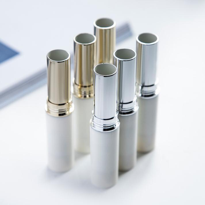 11mm white rossetto tubo fai da te vuoto ricaricabile riutilizzabile balsamo cosmetico imballaggio contenitore spedizione veloce SN1475