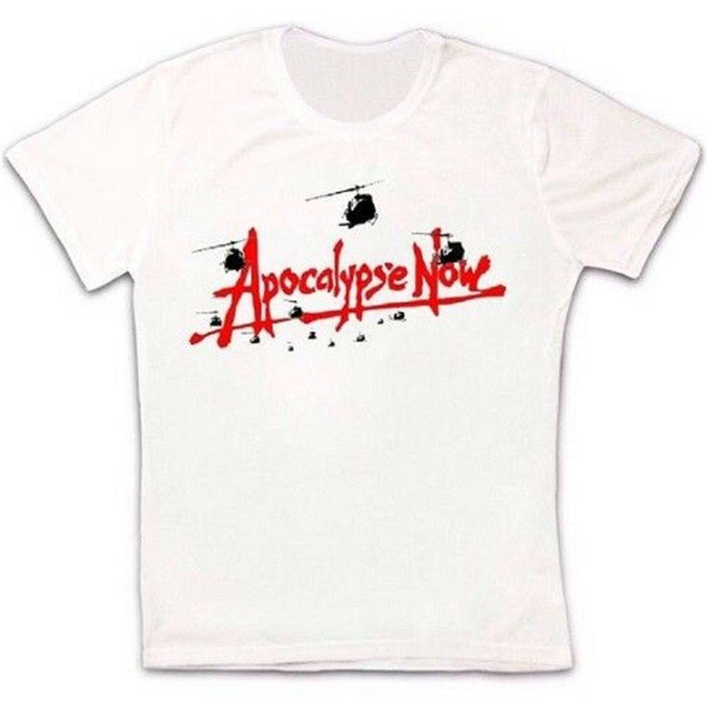 Apocalypse Now 79 Wietnam epik savaş Film Retro Cult Hipster Unisex Tişörtlü 1222 Marka Giyim Tee Gömlek