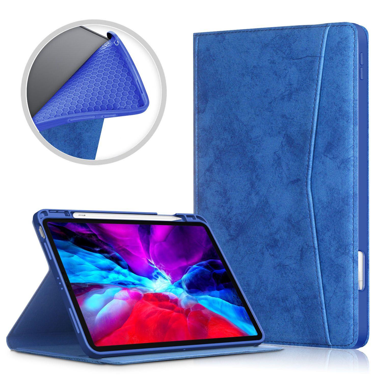 Case para iPad Air 4 10,8 Tablet Case para iPad 10,8 Soft Shell Virar Bracket TPU Magnet Tampa Magro Drop-Resistant ranhura da tampa Com caneta
