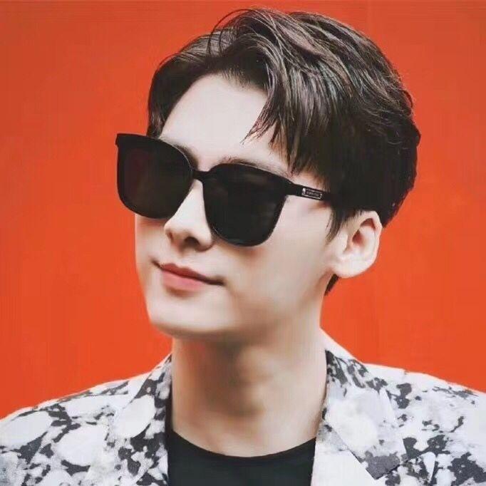 EPvmH Karte Li Yifeng gleiche Sonne Sonne 2019 neue Sonnenbrille der Männer in Mode UV-Beweis Gläser der Frauen Myopie Internet Berühmtheit Fahr