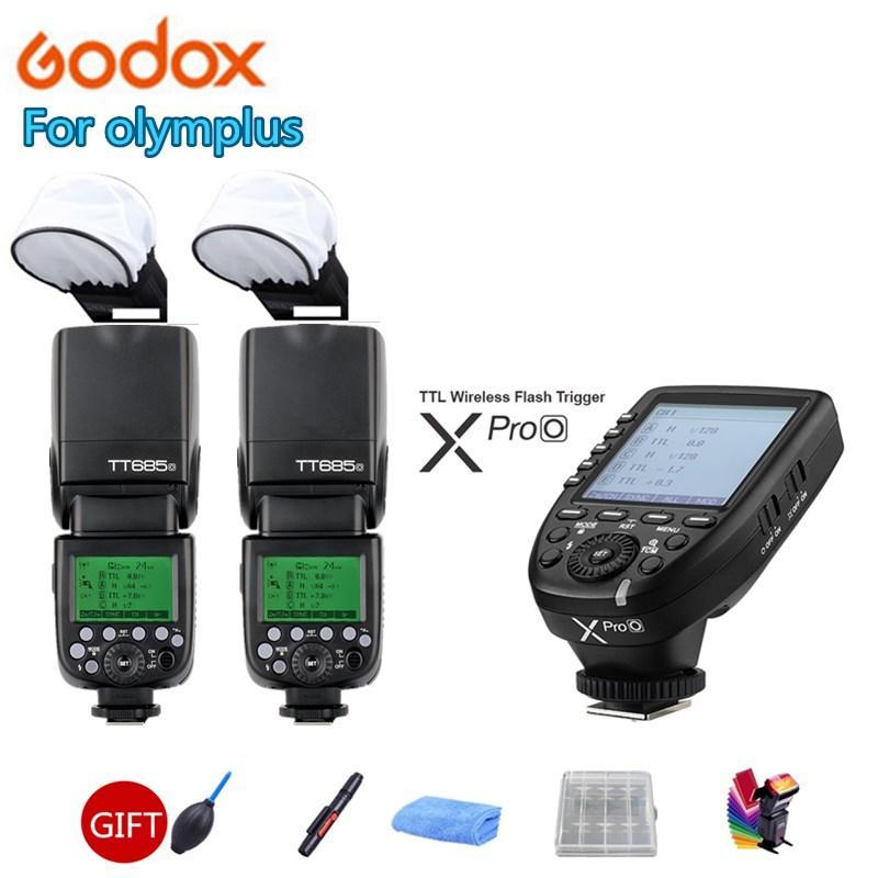 2X Godox685685C685N685S685F685O Flashl HSS Caméra Speedlite pour Appareil Photo Numérique Fuji