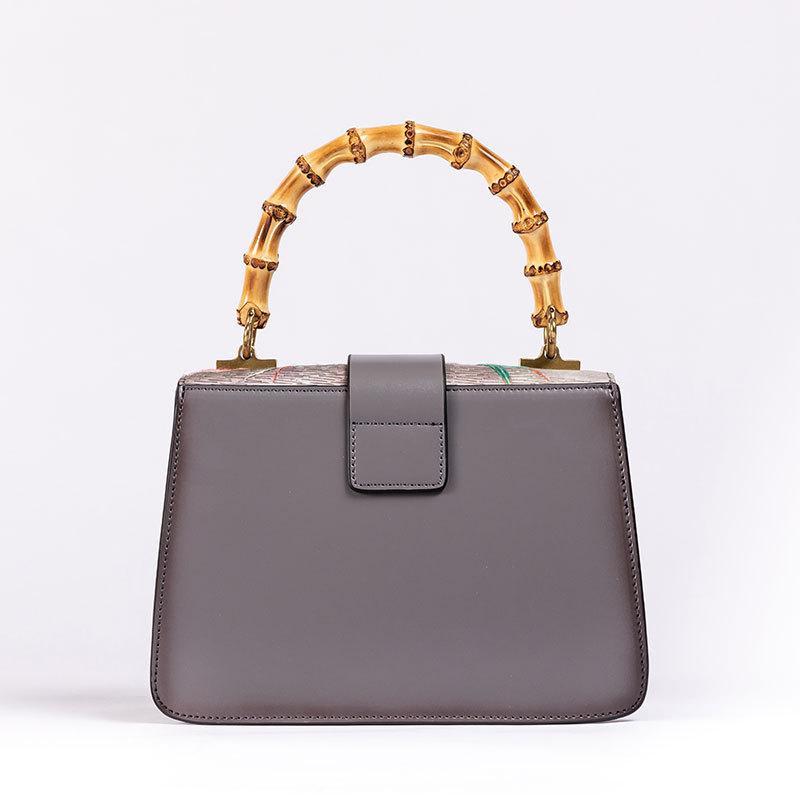 Sacos de alta qualidade sacos laptop sacos novos mulheres nacionais retro sacos estilo bordado artesanato bordado couro couro mulheres 2021 bamboo w odvi