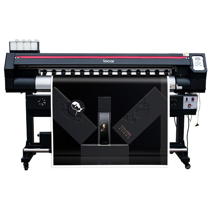 Locor automatic inkjet printer1.6m high speed digital car wrap eco solvent printer large image billboard printer