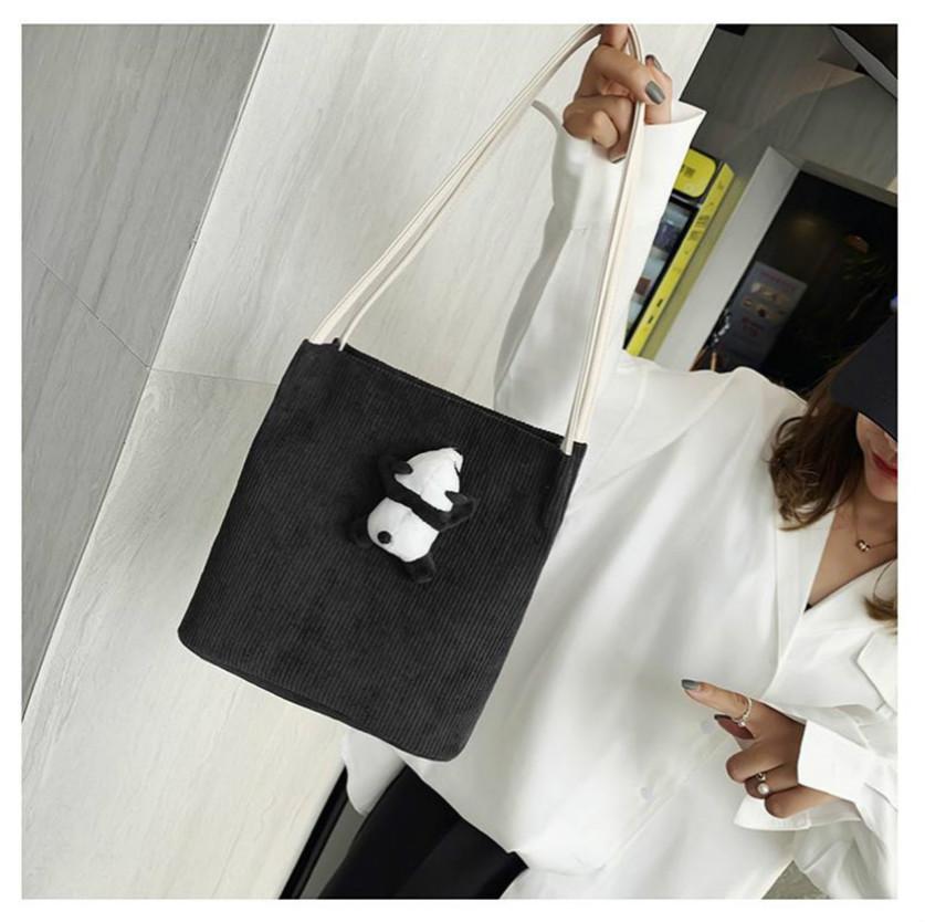 moda çanta kadın çanta kanvas omuz çantaları tüm kızlar için sevimli kova çanta yeni geliş ve aygıtıdır tarzı en çok satan güzel türü