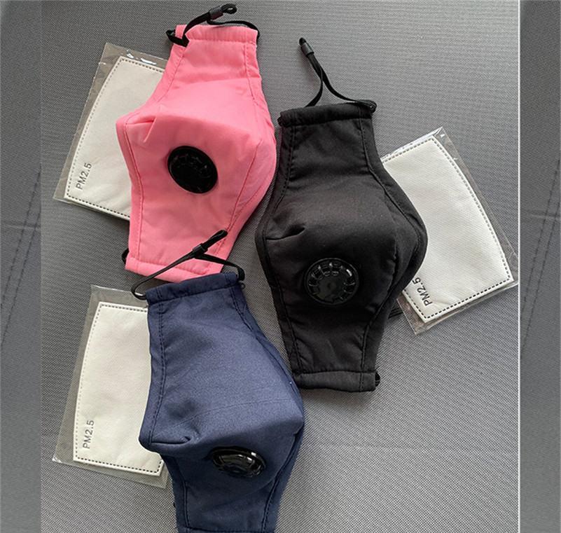 Auf Staub Staub Atem In direkter Masken Anti-Maske Baumwolle PM2.5 Designer Masken Ventil Smog Luxus Maske Fabrik Anti-Fog-Gesicht mit ehZybFDla