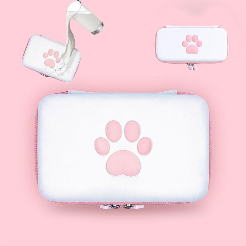 Переключательщик Portable Cat Chock Claw Case Bag EVA Водонепроницаемая дорожная сумка для выключателя Мини-лайт Игровой консоль