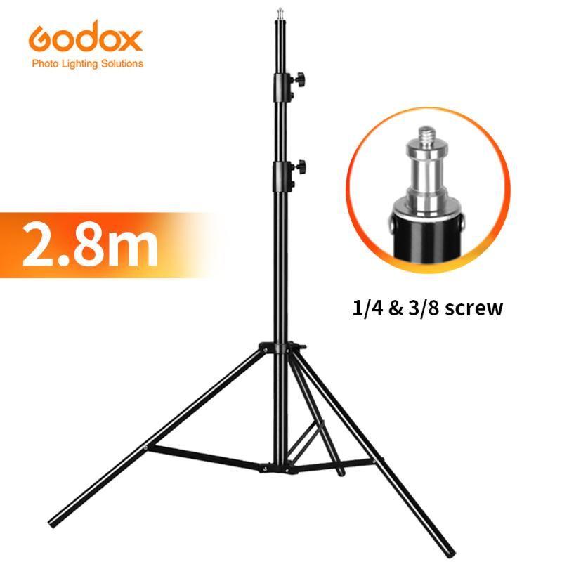 Godox 280cm 2.8m 9FT Pro Heavy Duty léger Support pour Fresnel Station de Tungstène TV Studio Photo Trépieds studio