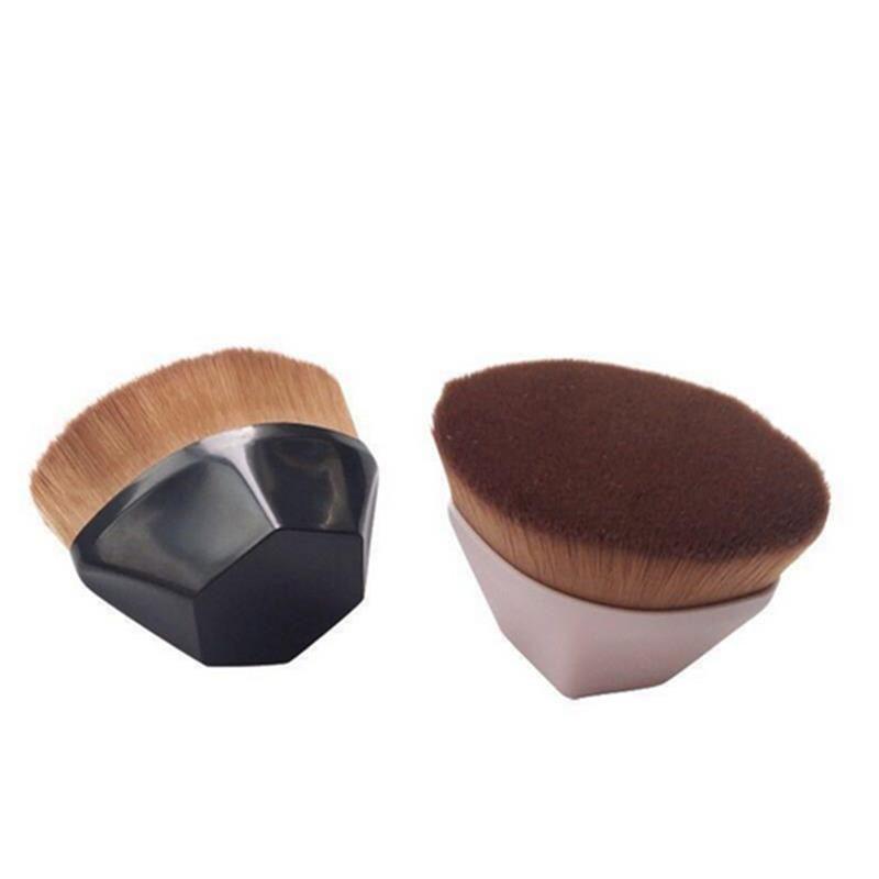 Новое прибытие No. 55 Волшебное Foundation Brush Алмазная кисти для макияжа Профессия Polygon Контур Blending Кисти микрофибры Пластиковые ручки
