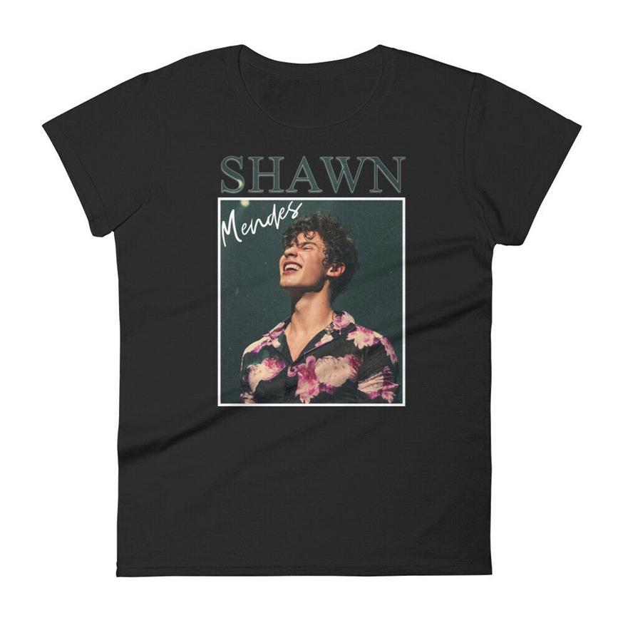 Shawn Mendes inspirou a camisa - Shawn Mendes Merch, T-shirt do concerto Shawn Mendes Adultos Tee Camisa Casual