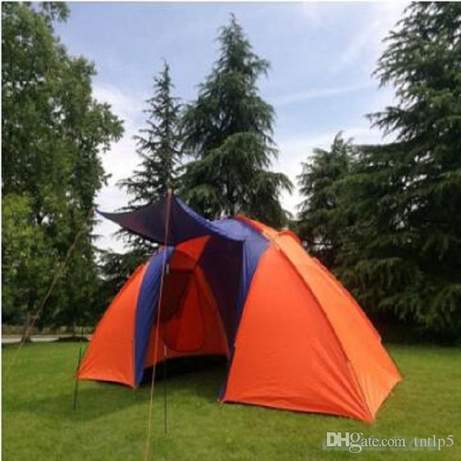 2020 Neu (5-8) NPC Zelt, Sommer doppeltes wasserdichtes Zelt, im Freienzelt Camping, Wandern, Angeln, Jagen, Familie, Partyzelt