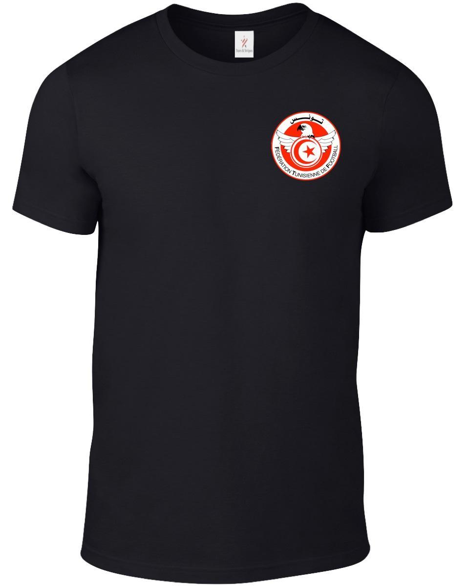 Tunísia 2020 camiseta Moda Impresso Unisex Futebolista Legend Soccers New Verão T shirt dos homens engraçados Tops Tees