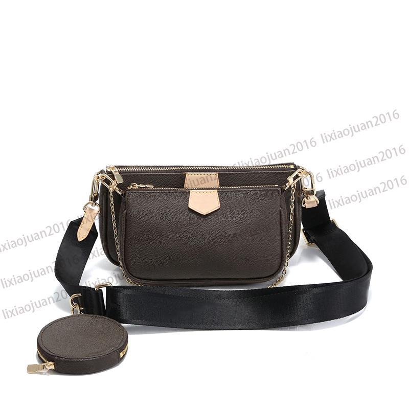 حار بيع باريس 3 قطعة مجموعة حقائب النساء حقيبة CROSSBODY أكياس وحقائب اليد حقيقية المحافظ سيدة حمل عملة المحفظة ثلاثة بنود
