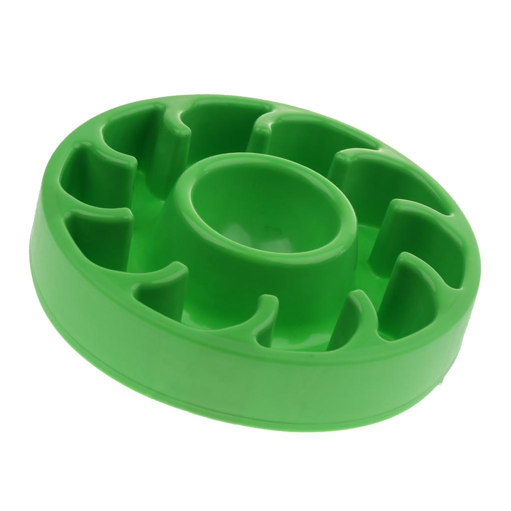Chien Chargeur lent / Bowl - Antiderapant alimentation anti-engloutissant Pet Plus lent Gamelle