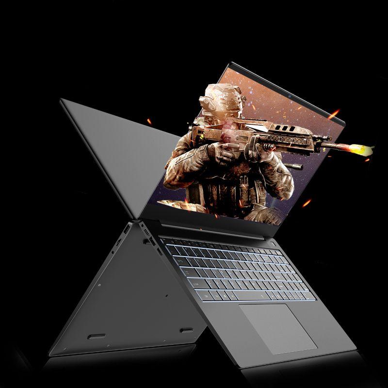 Dizüstü Bilgisayarlar Ultrathin Laptop 15.6 inç Ekran Celeron 3867U1920 * 1080 Ekran Piksel 8GB + 512 / 256/128 / 64 Sabit Disk Oyun Dizüstü Windows10 OS