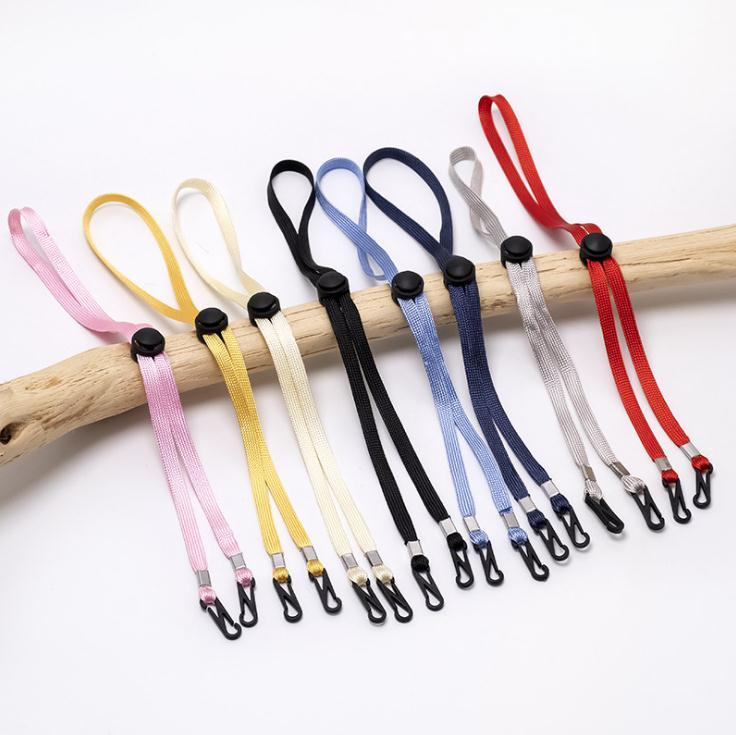 Multicolor Adjustable Anti-Slip Face Mask Ear Grips Extension Hook Rest Lanyard Ear Buckle Rope Ear-hook Anti-loss Straps DHF1681
