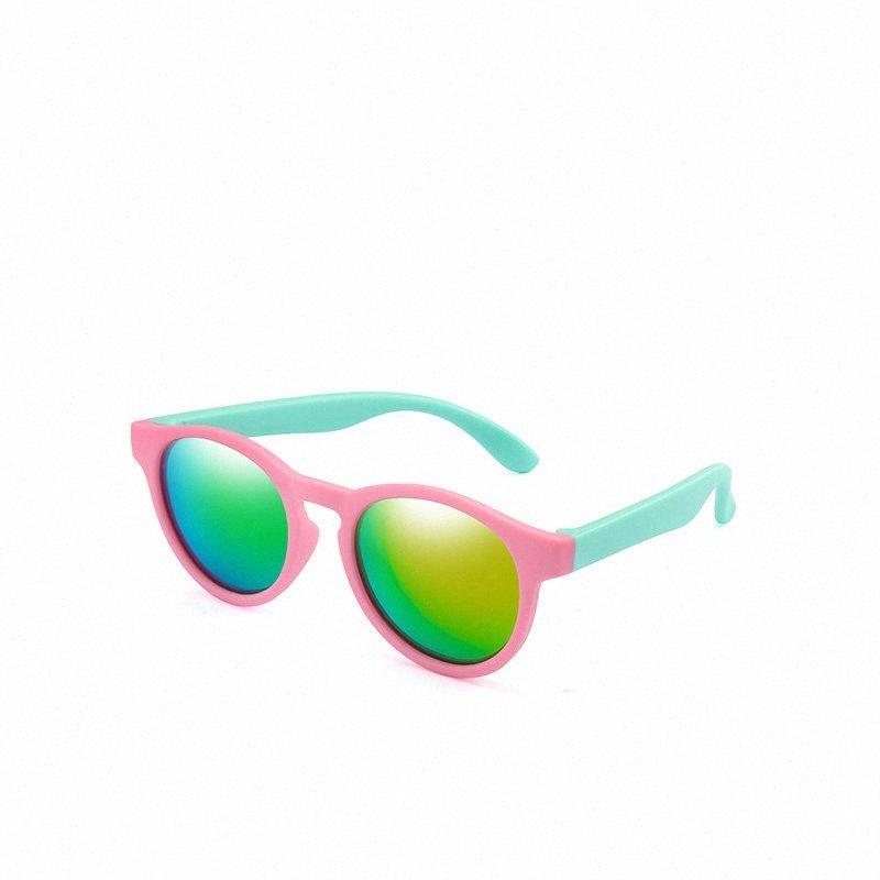-Polarisierte Sonnenbrillen für Kinder   Eine Vielzahl von Farben, UV400 Sicherheit Sonnenbrille für Jungen und Mädchen, Babybrille, unten Auge g kKOw #