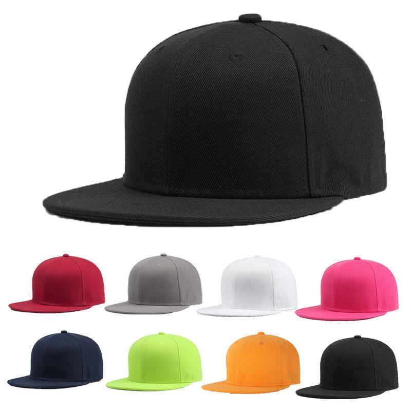 2020 새로 스포츠 야구 모자 빈 일반 단단한 Snapback 골프 공 스트리트 모자 남성 여성